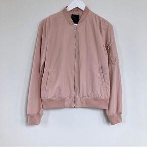 Zara Basic Lightweight Bomber Jacket